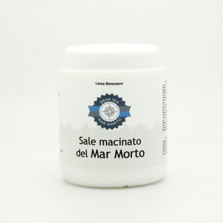 SALE MACINATO DEL MAR MORTO