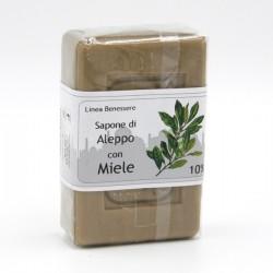 SAPONE DI ALEPPO - 10% con MIELE